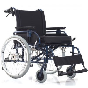 Инвалидное кресло-коляска с высокой грузоподъемностью Ortonica Base 120