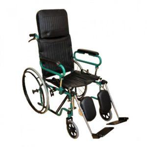 Инвалидная коляска с высокой спинкой Мега-Оптим Fs 902 Gc