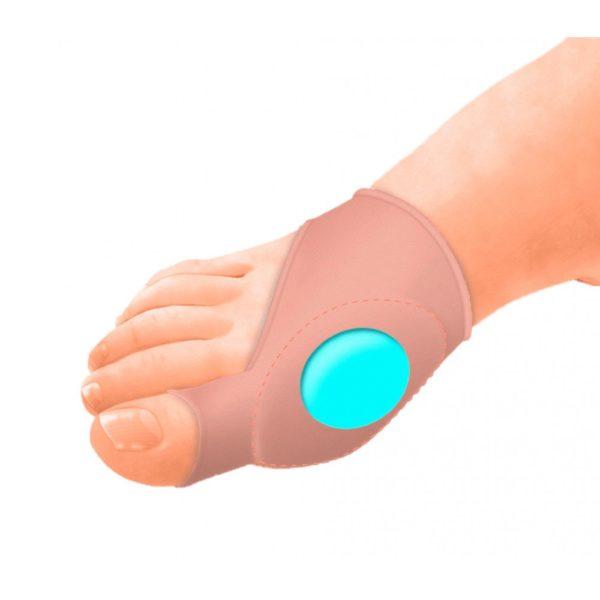 Бандаж с защитной подушечкой при бурситах большого пальца стопы Orliman Sofy-plant® gel Gl-121
