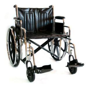 Инвалидная коляска повышенной грузоподъемности Мега-Оптим Lk 6118-51 (56, 56а) / 711 Ae