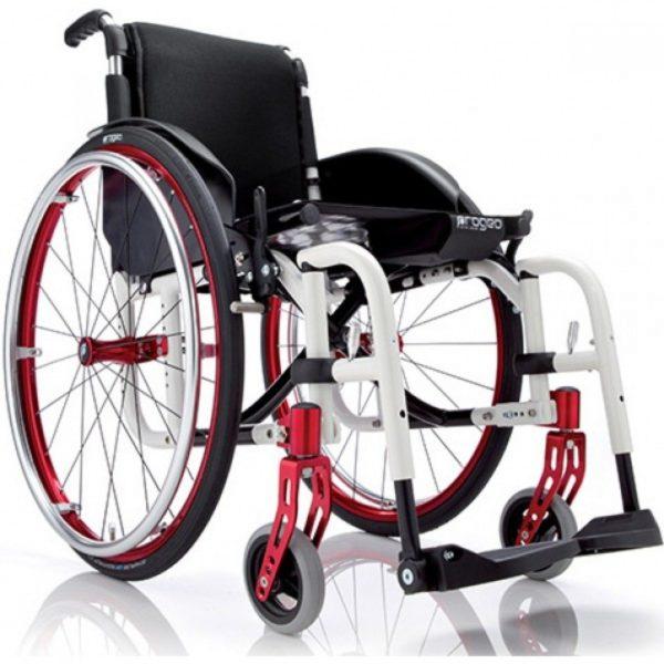 Кресло-коляска с ручным приводом активного типа Progeo Exelle Vario