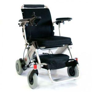 Инвалидная коляска складная с электроприводом Мега-Оптим Fs 127 (lk36b)