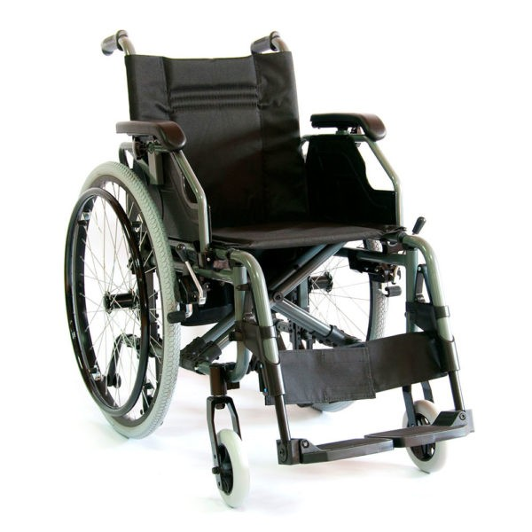 Инвалидное кресло-коляска алюминиевая Мега-Оптим Fs 957 Lq