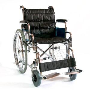 Инвалидное кресло-коляска стальная Мега-Оптим Fs 902c