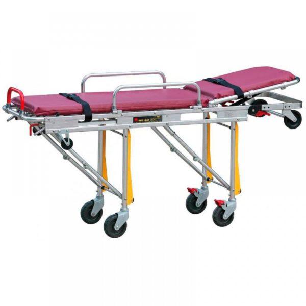 Каталка для автомобилей скорой медицинской помощи Мед-Мос Ydc-3a (нерж. с пласт.лож.)