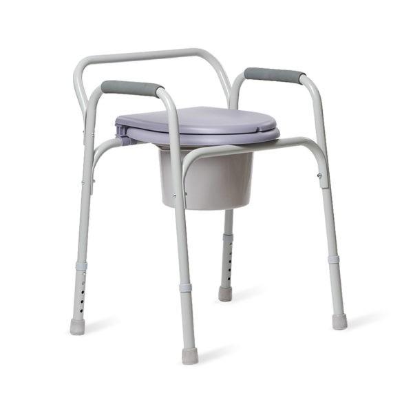Кресло инвалидное с санитарным оснащением Armed Фс810