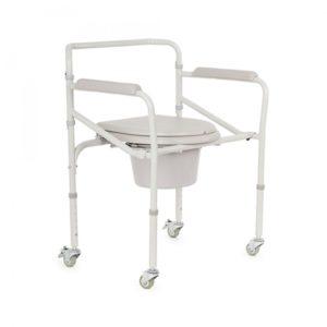 Кресло-коляска для инвалидов с санитарным оснащением Armed H 005b