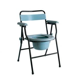 Кресло-стул с санитарным оснащением Мега-Оптим Hmp-460