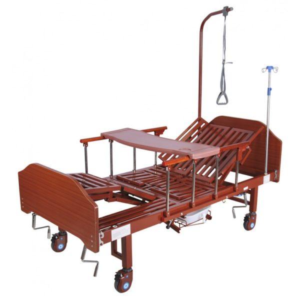 Кровать механическая с боковым переворачиванием Мед-Мос Yg-5 (мм-036н)