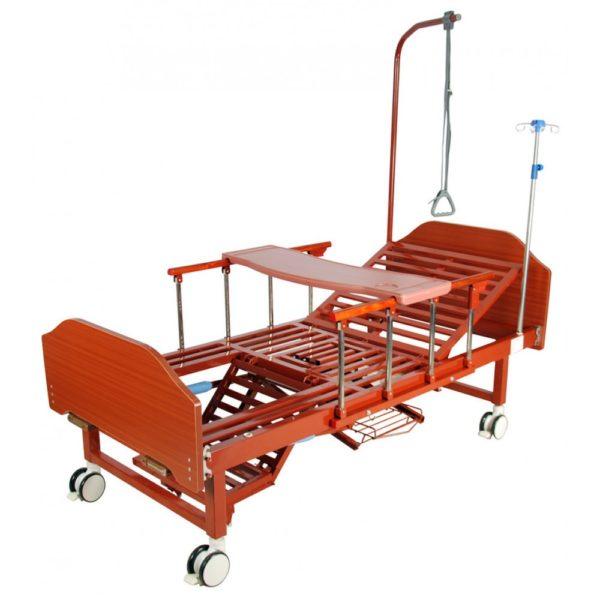 Кровать механическая с туалетным устройством Мед-Мос Yg-6 (mm-191пн)