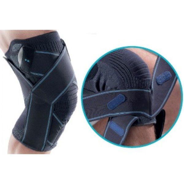 Лигаментарный коленный ортез с функциональными тяжами Thuasne LIGASTRAP® GENU 2170
