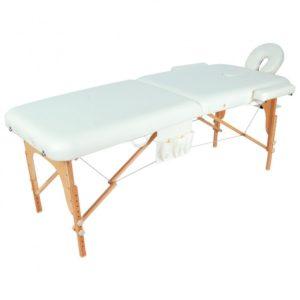 Массажный стол складной деревянный Мед-Мос Jf-ay01 2-х секционный (Мст-003л)
