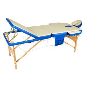 Массажный стол складной деревянный Мед-Мос Jf-ay01 3-х секционный М/к