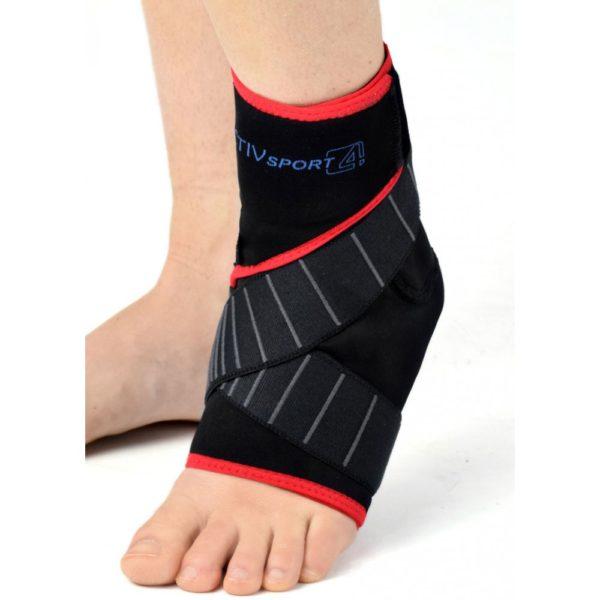 Ортез голеностопного сустава с ремнями на липучках Velcro Reh4Mat Am-oss-04