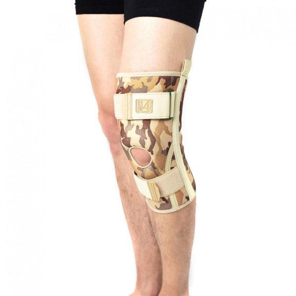 Ортез колена с ортопедическими упругими вставками Reh4Mat 4army-sk-04