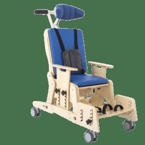 Ортопедическое реабилитационное кресло со стабилизацией плеч и головы Akcesmed Кидо Home Kdh