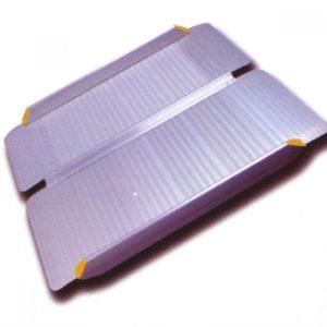 Пандус перекатной рампа складная 2-секционная Мега-Оптим Mr 407