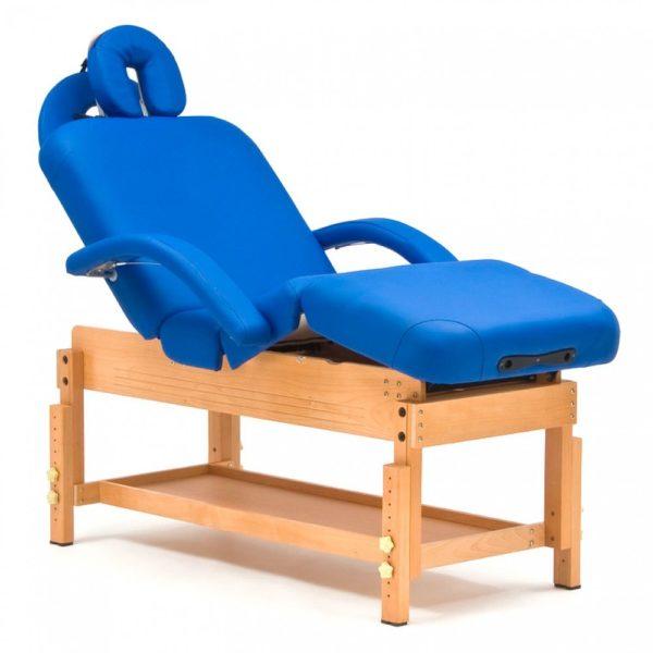 Стационарный массажный стол деревянный Мед-Мос Fix-0a