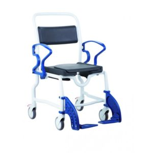 Туалетно-душевой стул с 5-ти дюймовыми колесами Rebotec Нью-Йорк 369.54