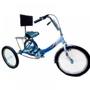 """Велосипед-тренажер для взрослых с ДЦП ВелоЛидер 24"""" 024"""