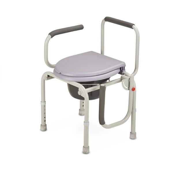 Кресло-туалет с опускающимися подлокотниками CA667